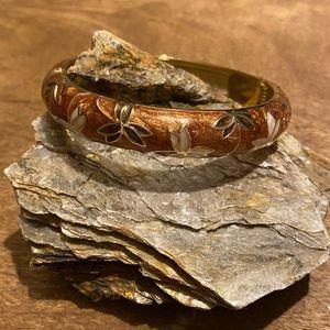 Jewelry - Beautiful Flower Enamel Bracelet